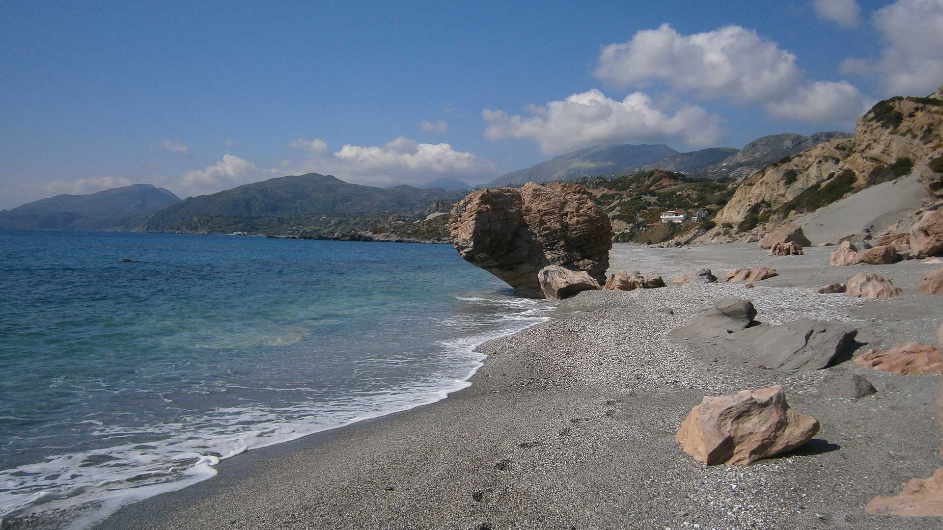 South seaside of Rethymno